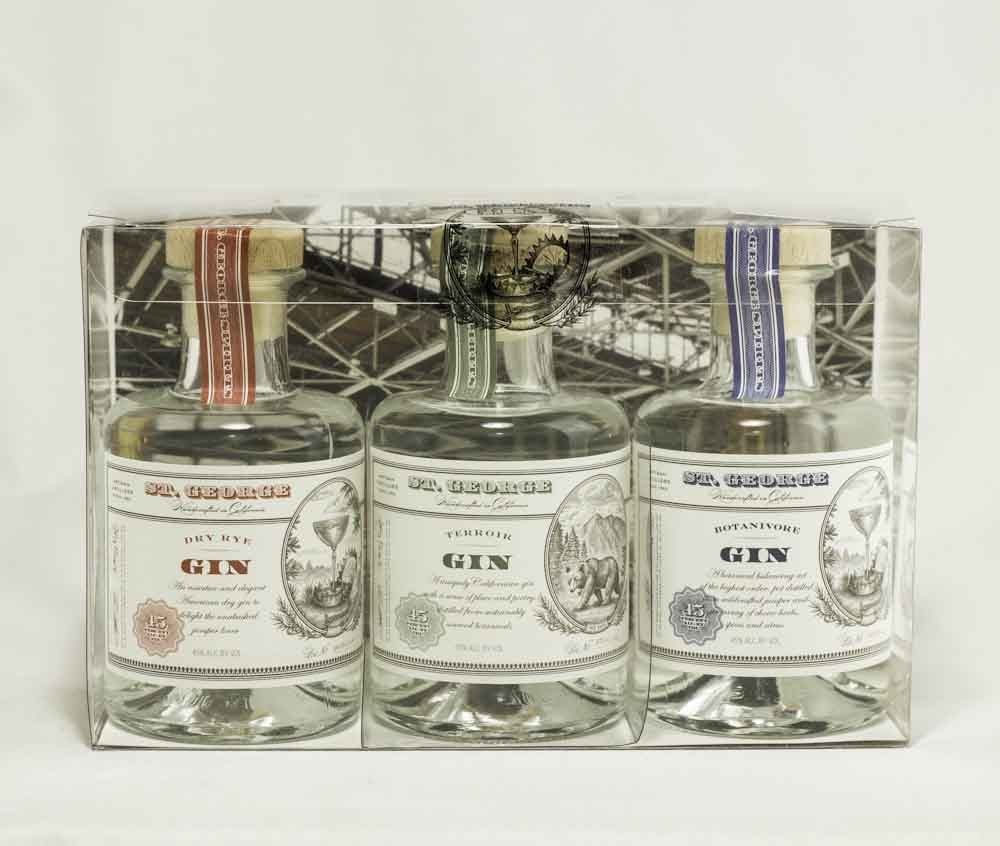 St. George's Gin Sampler