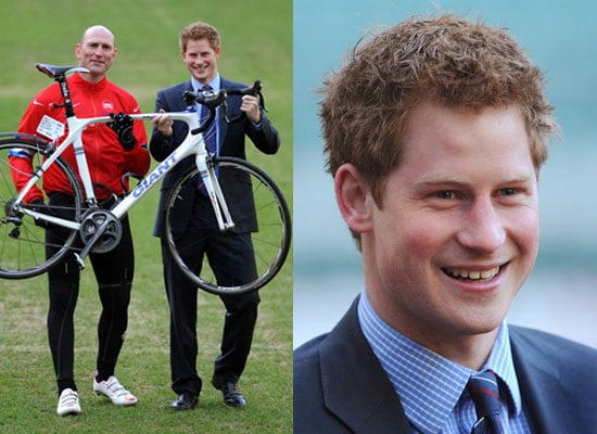 Photos of Prince Harry With Lawrence Dallaglio Cycle Slam at Twickenham