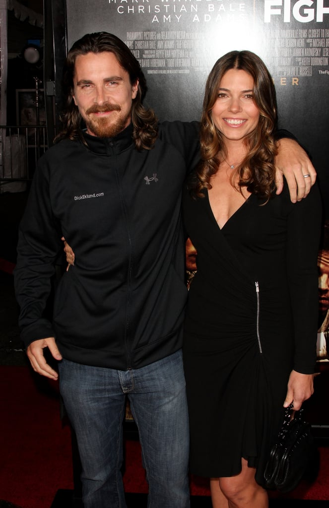 Sporting a longer 'do, he had his arm around Sibi at the December 2010 premiere of The Fighter in LA.