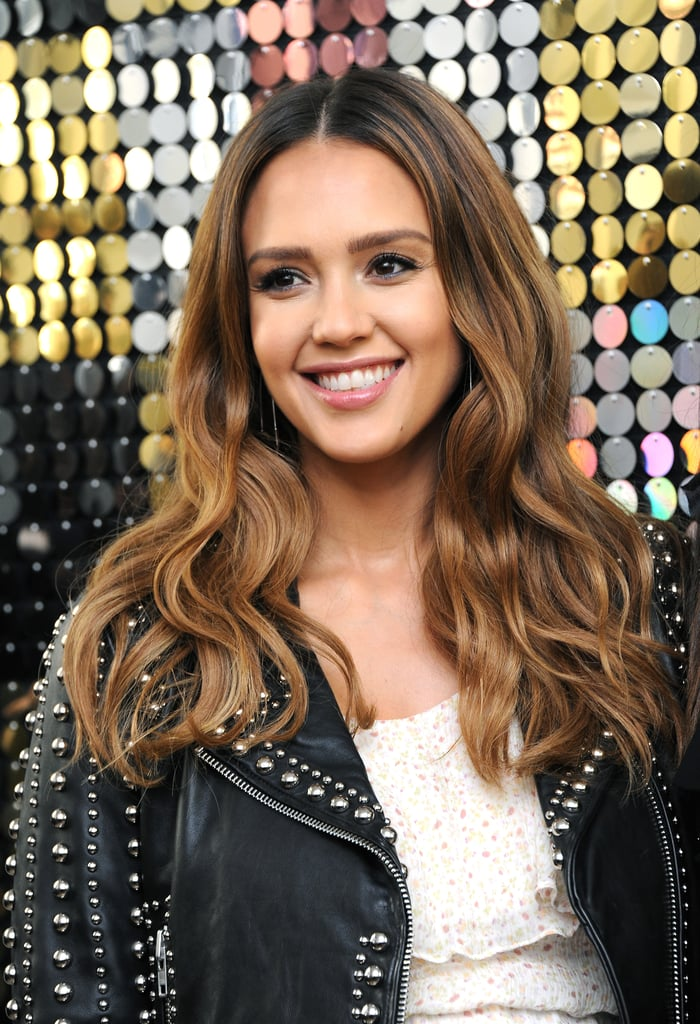 Time-Reversing Color as Seen on Jessica Alba