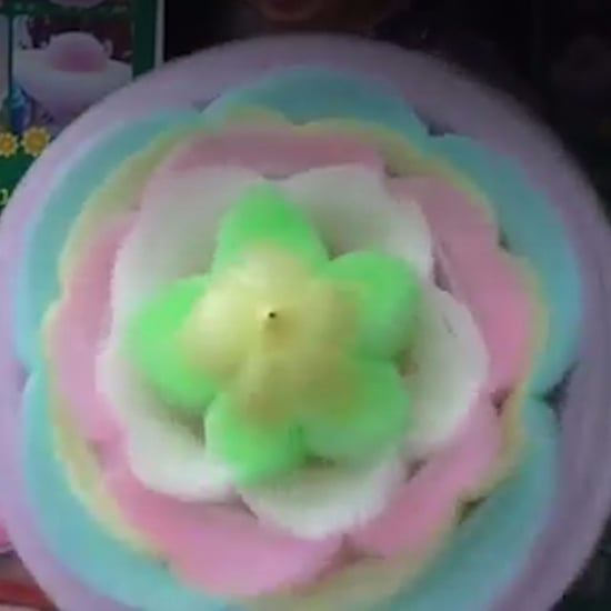 Cotton Candy Art (video)