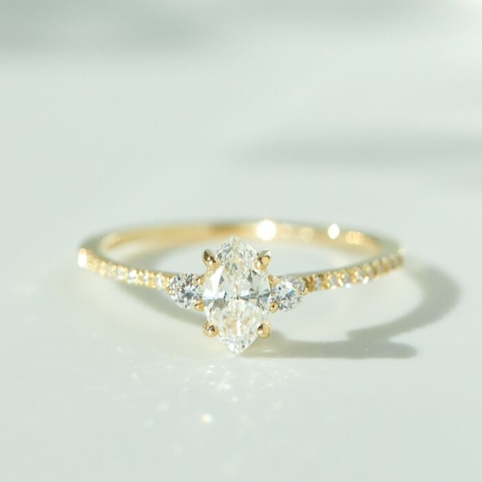 Coralie Solitaire Ring