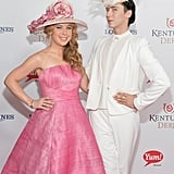 Tara Lipinski and Johnny Weir both had fun with their extravagant hats in 2014.
