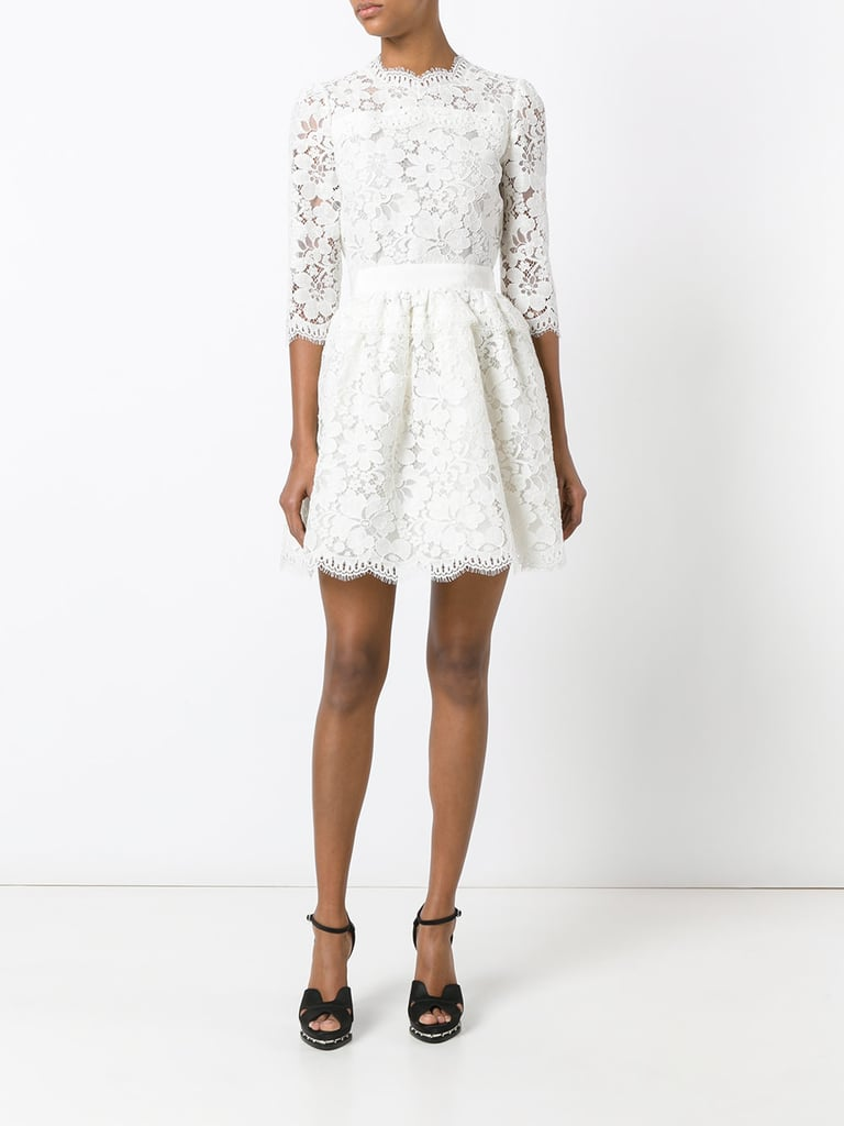 ALEXANDER MCQUEEN lace mini dress ($3,685)