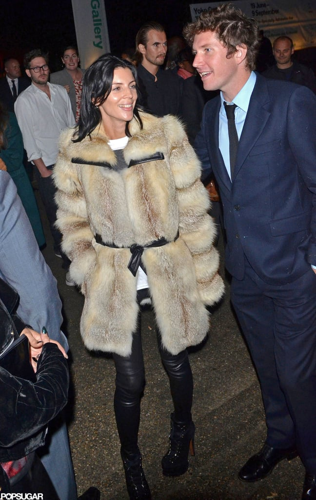 Liberty Ross attended the Future Contemporaries party.