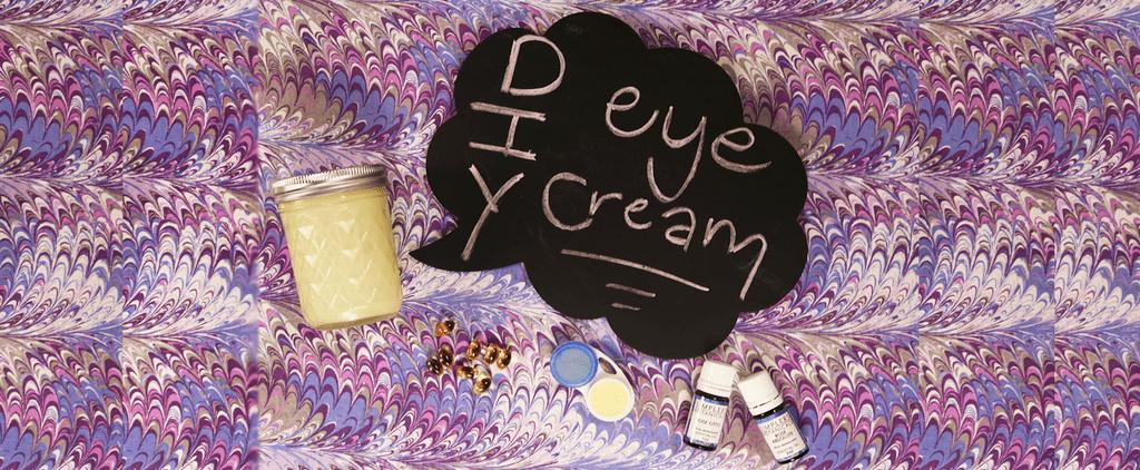 How to Make Coconut Oil Eye Cream   Video