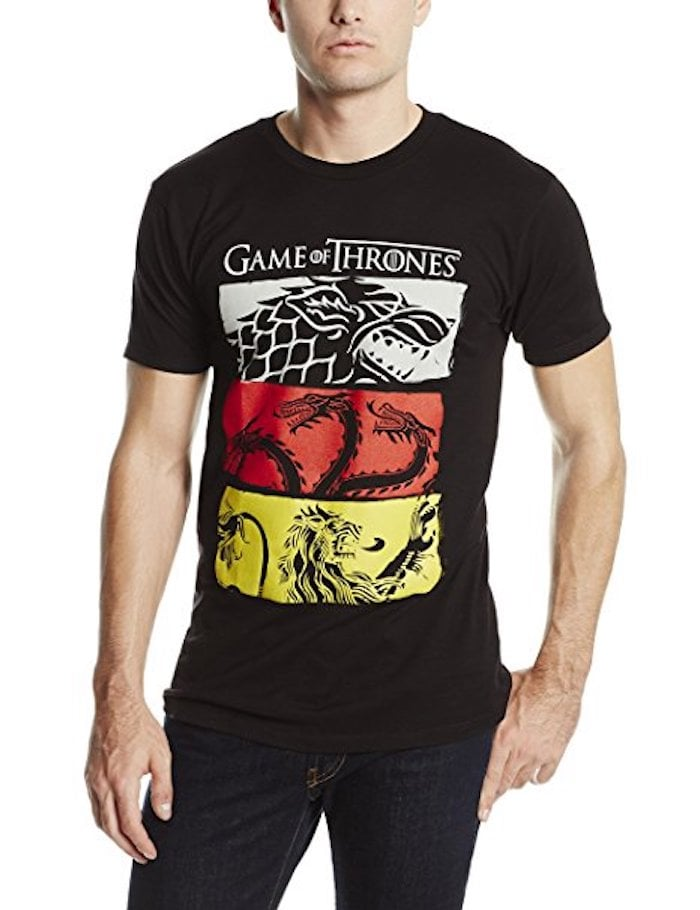 Game of Thrones 3 House Symbols T-Shirt