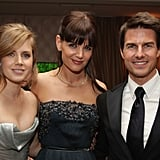 Amy Adams, Katie Holmes, and Tom Cruise