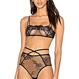 Only Hearts Miss Ruby Bralette ($64) and High-Waisted Panties ($50)