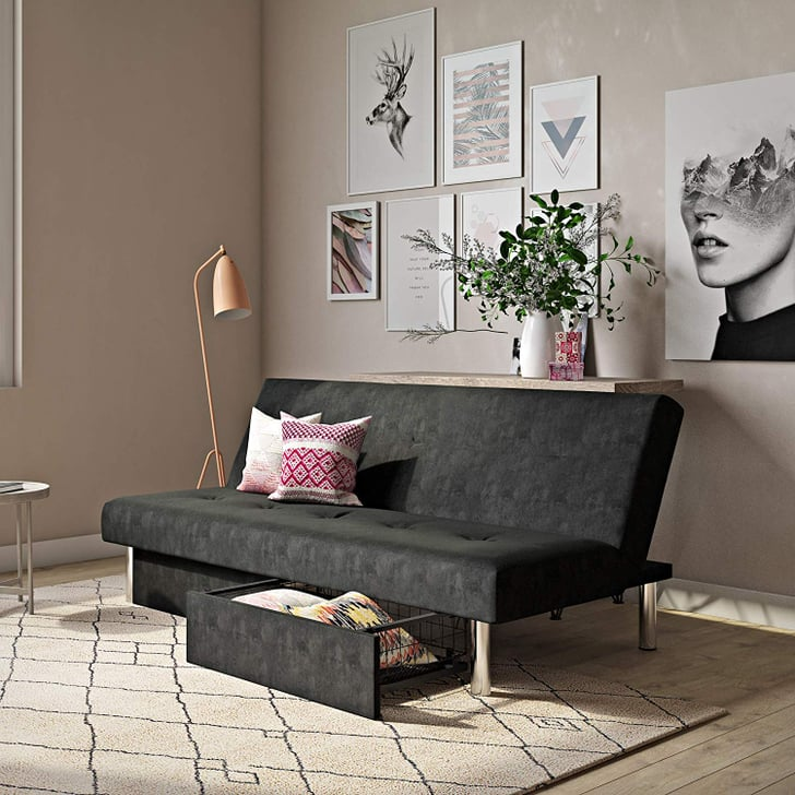 Dhp Sola Convertible Sofa Futon Best Futons From Walmart