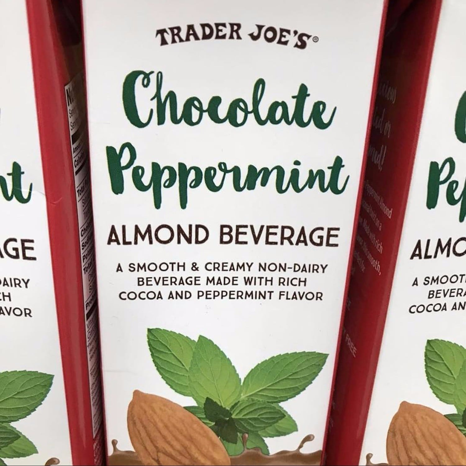 Trader Joe\'s Chocolate Peppermint Almond Drink | POPSUGAR Fitness