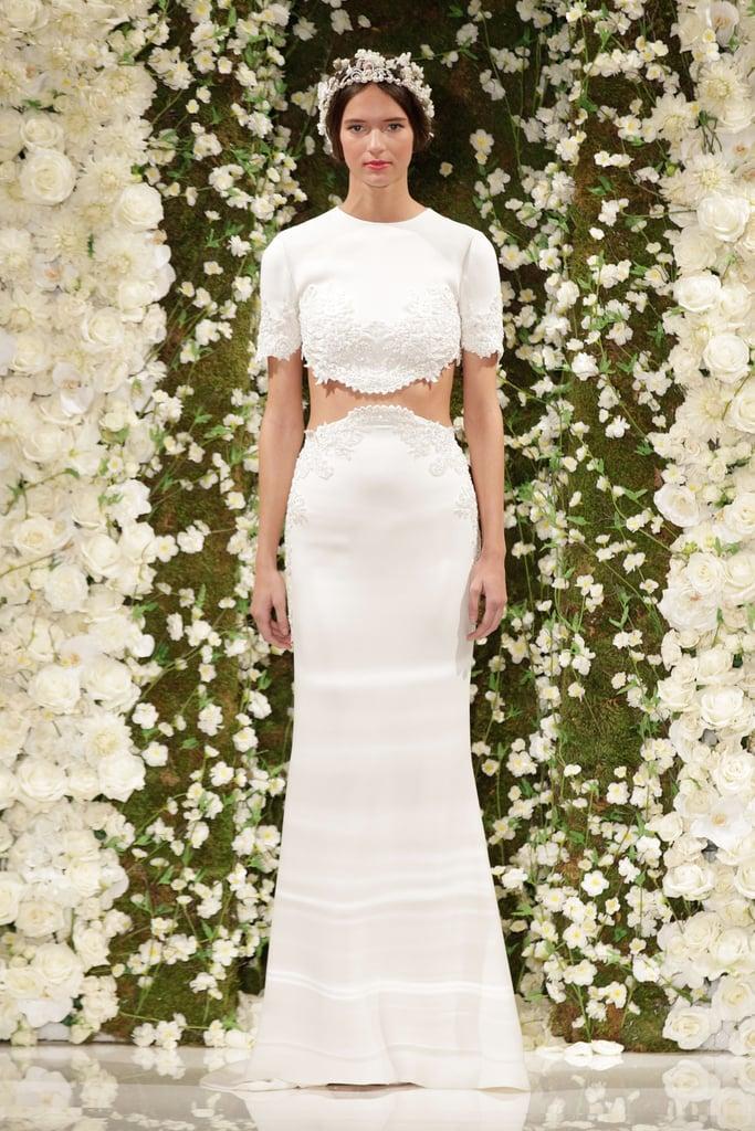 Reem Acra Fall 2015 | Bridal Fashion Week Wedding Dress Trends for ...