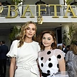 Pictured: Jodie Comer and Jessica Barden