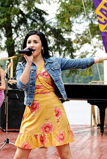Demi Lovato Rewatches Camp Rock With Boyfriend Max Ehrich