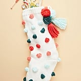 Sally Pom-Pom Stocking