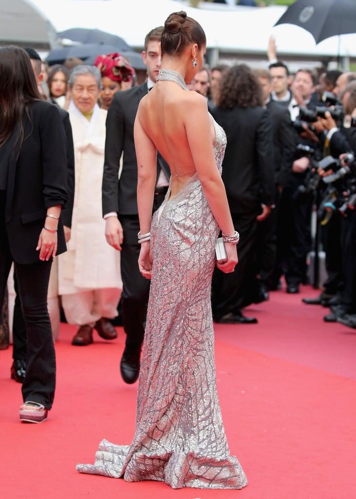 Bella Hadid's Elie Saab Dress at Cannes 2018