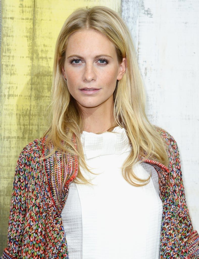 Poppy Delevingne at Chanel Spring 2014.