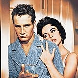 Paul Newman and Elizabeth in Cat on a Hot Tin Roof in 1958.