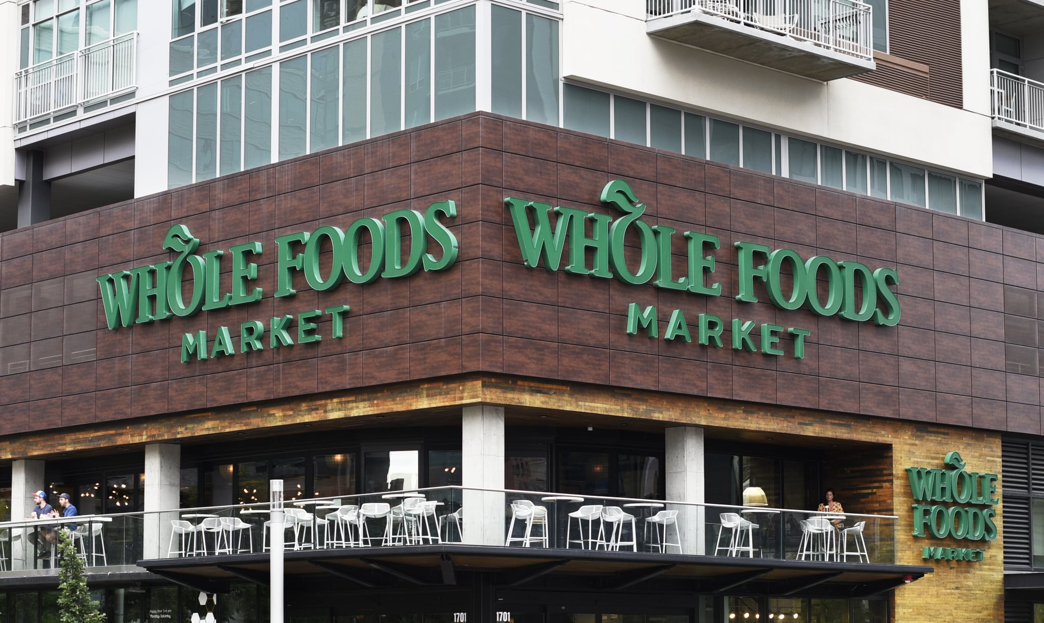 DENVER, COLORADO - SEPTEMBER 4, 2019: A Whole Foods Market in downtown Denver, Colorado. (Photo by Robert Alexander/Getty Images)