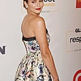 Nina Dobrev at GLSEN Respect Awards in LA October 2016