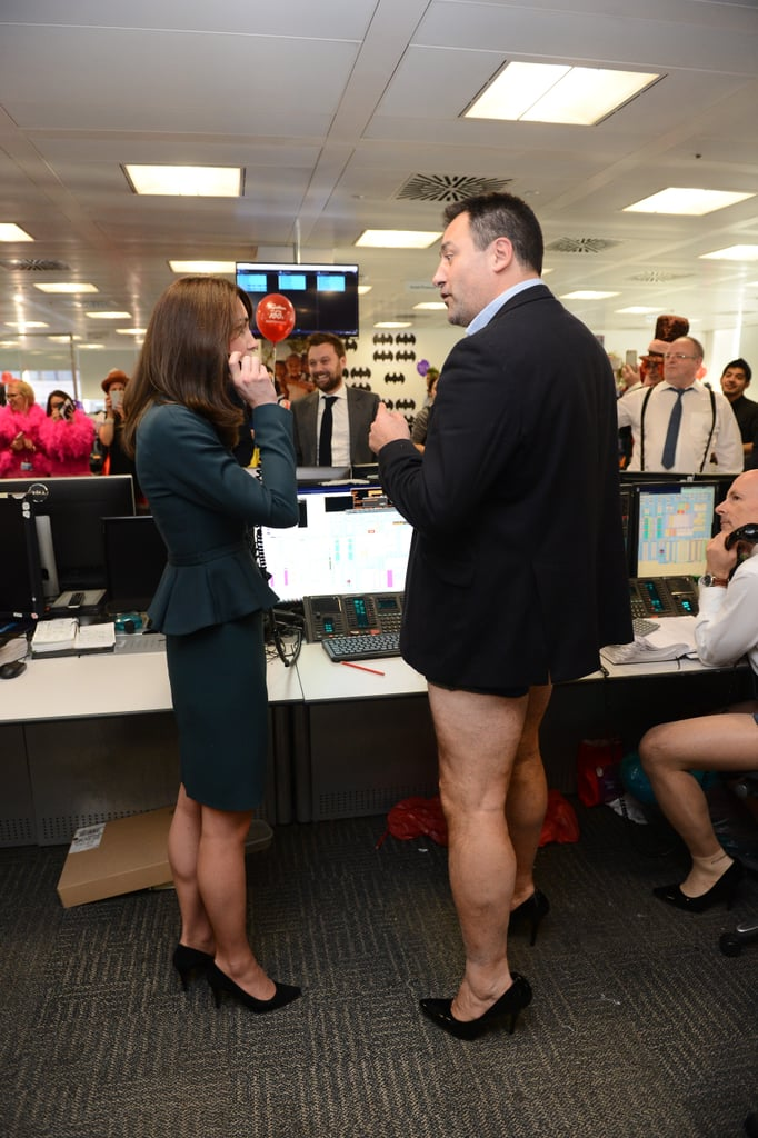 Kate Middleton Trading Room Floor 2015 Pictures
