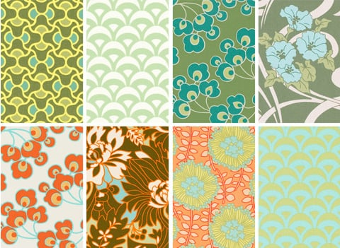 Nice and New: Amy Butler August Fields Collection ...