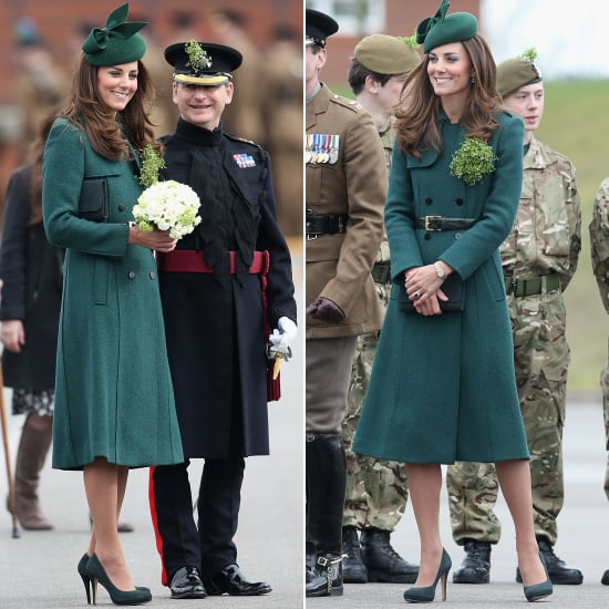 The Duchess of Cambridge St Patrick's Day Green Coat