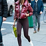 Emily Ratajkowski Wearing Leggings
