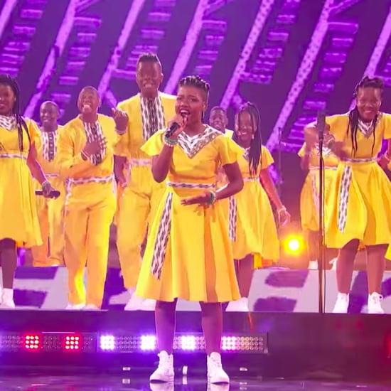 "Ndlovu Youth Choir Sings ""Africa"" on America's Got Talent"