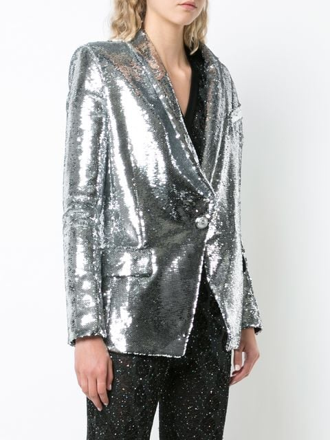 106268e0 Balmain Sequin-Embellished Blazer | Hailey Baldwin Pretty Little ...
