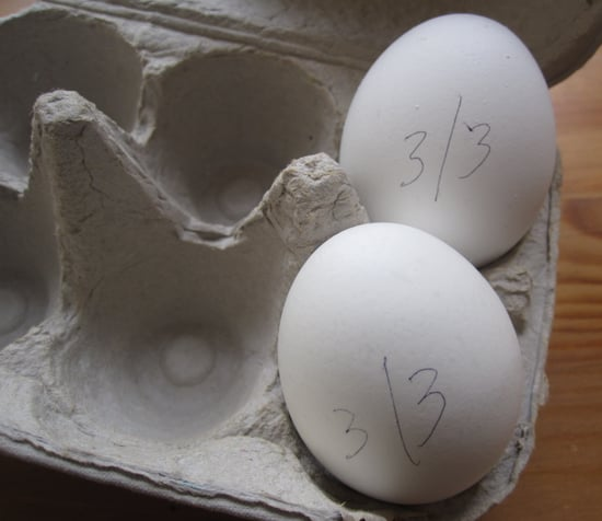 Simple Tip: Write the Date on Hard Boiled Eggs