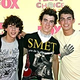 The Jonas Brothers at the Teen Choice Awards in 2006