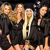 Pictured: Candice Swanepoel, Behati Prinsloo, Rita Ora, and Adriana Lima