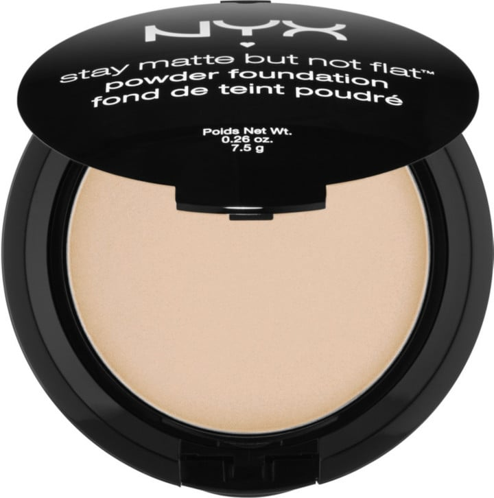 NYX Stay Matte Powder Foundation ($10) comes in 25 shades.