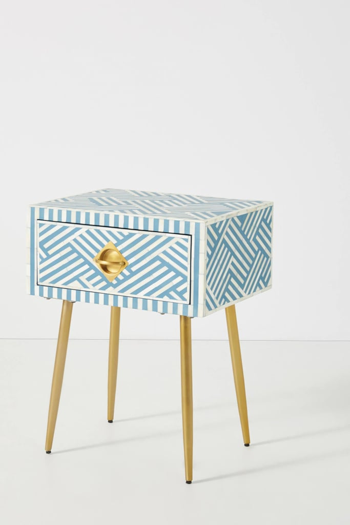 Optical Inlay Nightstand