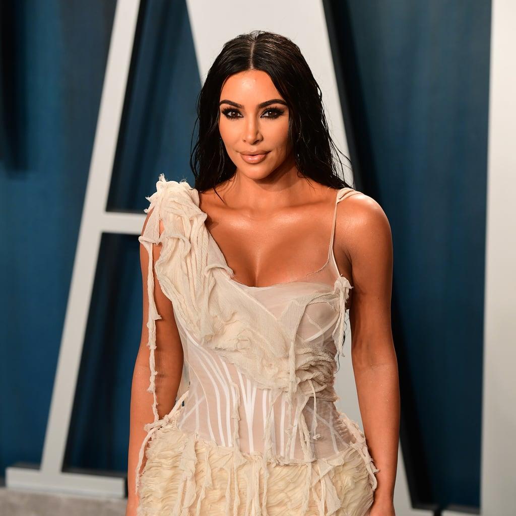 Kim Kardashian's Bleached Eyebrows on Instagram