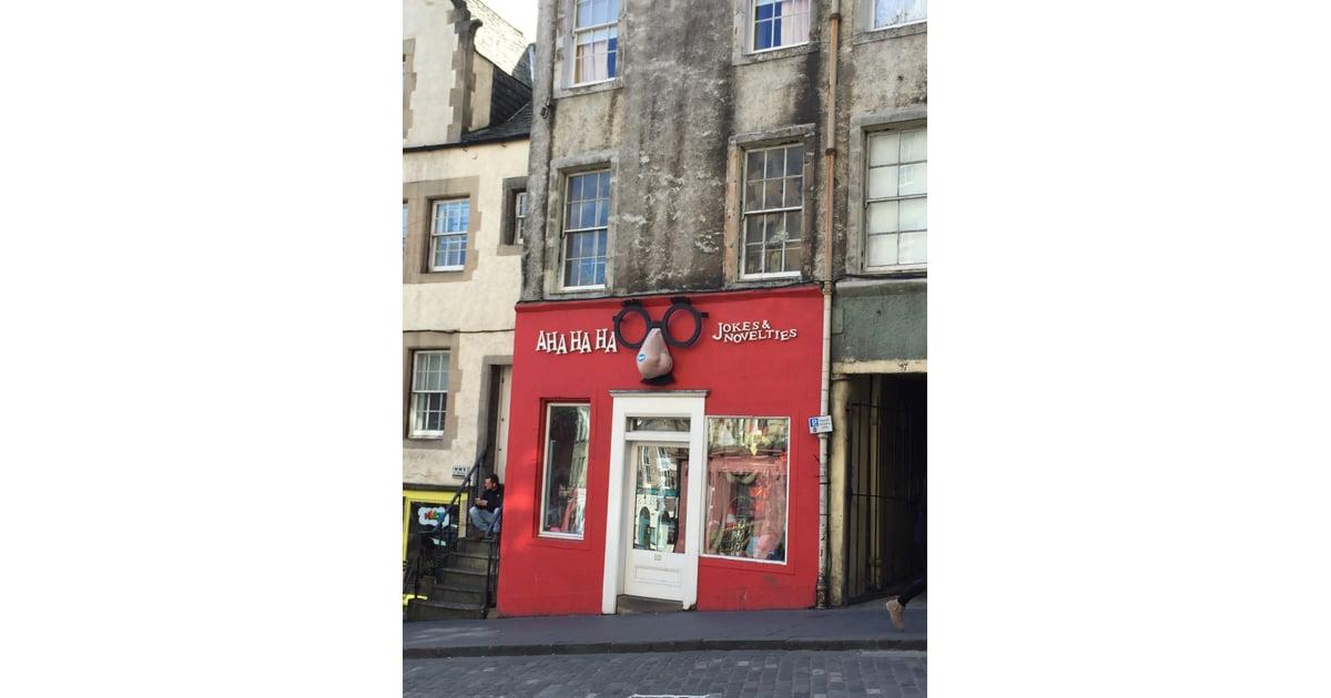 There 39 s even a joke shop on victoria street aha ha ha for Loveland tattoo shops