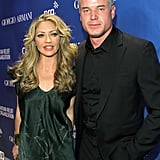 Eric Dane and Rebecca Gayheart arrived together.