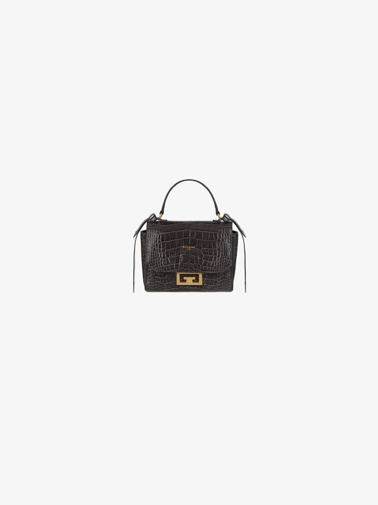 Givenchy Mini Eden Bag in Crocodile Effect Leather