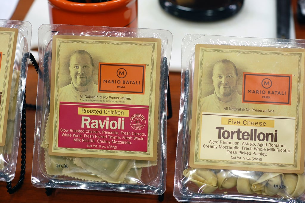 Mario Batali's Ravioli Line | Winter Fancy Food Show ...