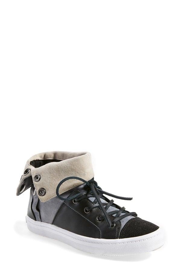 Rebecca Minkoff 'Spender' Leather Sneaker ($250)