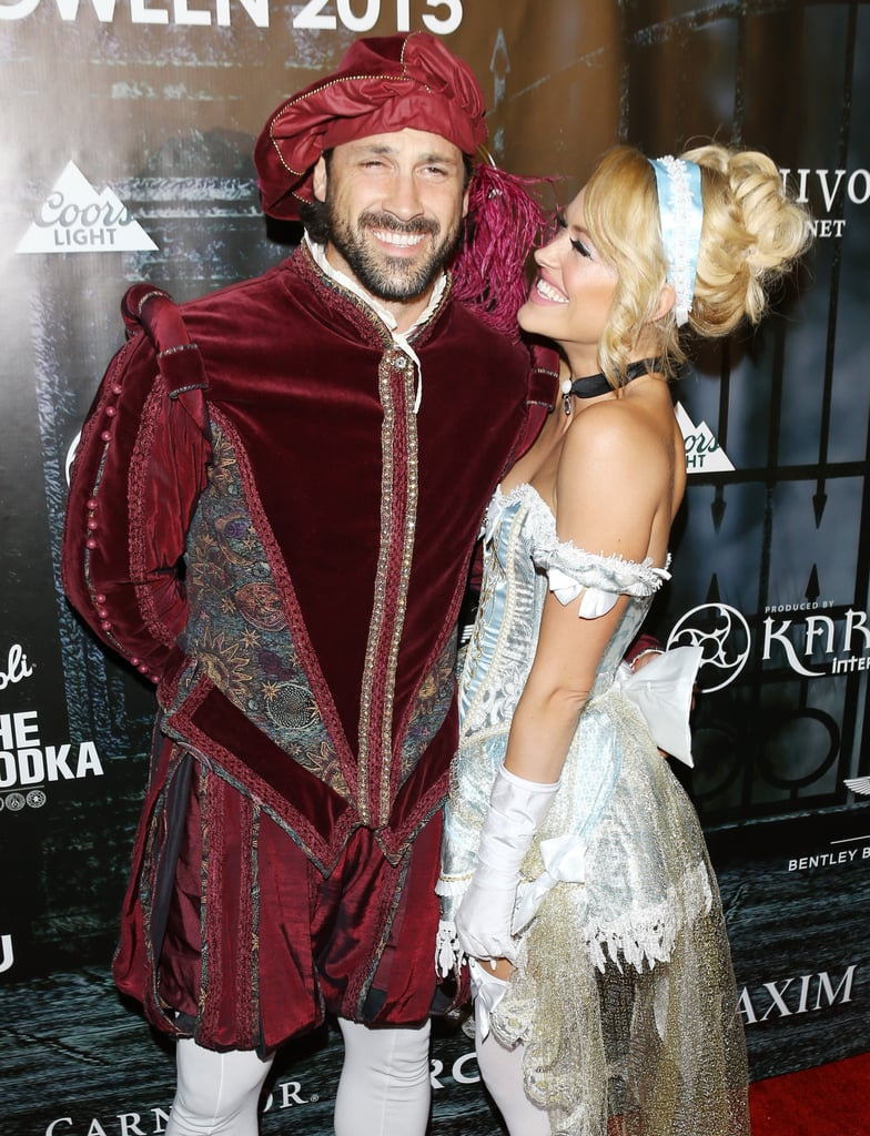 The couple looked fairytale-perfect as they dressed up as Prince Charming and Cinderella for MAXIM Magazine's official Halloween party in 2015.