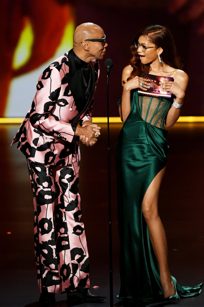 RuPaul and Zendaya at the 2019 Emmys