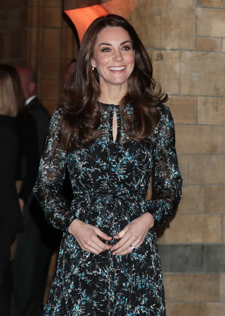 Kate Middleton's L.K. Bennett Cersei Evergreen Silk Dress