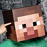 Minecraft Steve Head Costume Mask