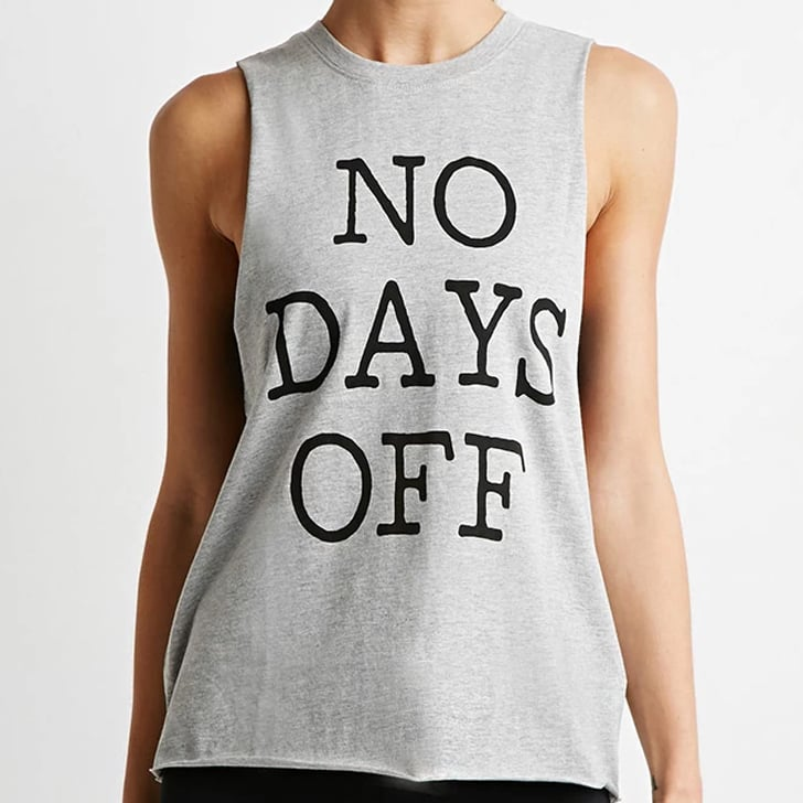 Witty and Motivating Workout Tops and T-Shirts
