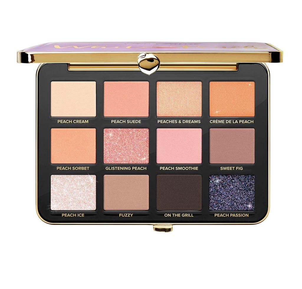 Too Faced Peaches & Cream White Peach Eyeshadow Palette