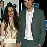 Alanis Morissette and Ryan Reynolds in 2003
