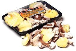 Arugula Salad With Grilled Mushrooms