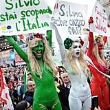 Femen in Italy, 2011